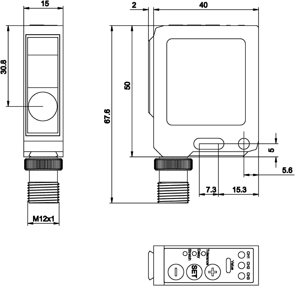 Product Details Ipf Electronic 5 Pin Din To 35mm Wiring Diagram Circuit